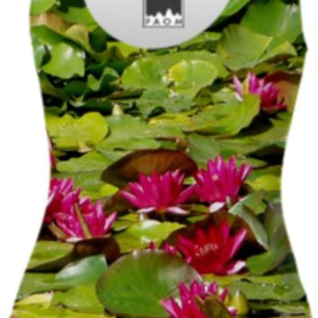 Water Lily Swimsuit created by ErikaKaisersot | Print All Over Me