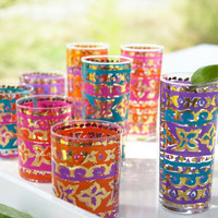 """Tapestry"" Drinkware - Horchow"