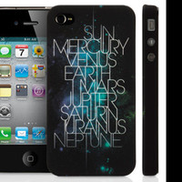 Griffin Technology: Solar System - Design by Atmostheory for iPhone 4 and iPod touch