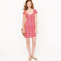 T-SHIRT DRESS IN IKAT PRINT