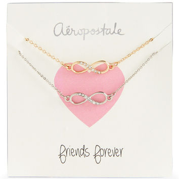 BFF Infinity Short-Strand Necklace 2-Pack