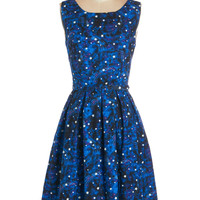Long Sleeveless A-line Just Be Cosmic Dress