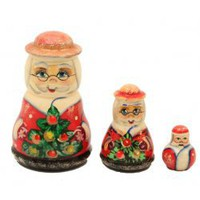 Christmas Matryoshka Doll