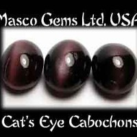 Rare Cats Eyes Cabochon Chrysoberyl Gemstone Parcel 3lot | CustomGemCutterCreations - Jewelry on ArtFire