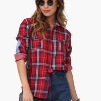 Aspen Plaid Button Down