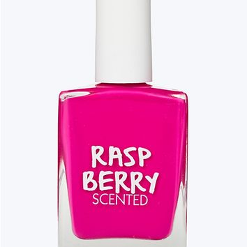 rueScents Nail Polish  Raspberry