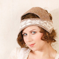 Headband hat Flapper hat Flapper headband Flapper by mynoush