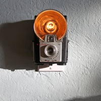 Vintage Camera Nightlight  Kodak Brownie Starflash by jayfish
