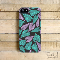 Winter Wind Leaves - iPhone 5/5c case, iPhone 4/4s case, Samsung Galaxy S3/S4