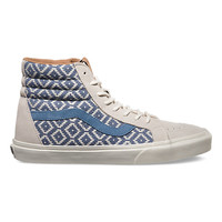 Vans SK8-Hi Reissue CA (Italian Weave/birch/captain blue)