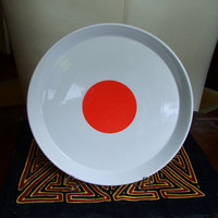 Plate designed by Gio Ponti for Ceramiche Franco Wells