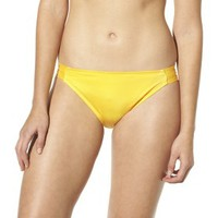 Mossimo® Women's Mix and Match Hipster Swim Bottom -Lemon Tart