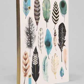 Feather Journal  Urban Outfitters