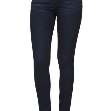 Bullhead Denim Co Low Rise Skinniest Rock Ledge Wash Jeans - Womens Jeans - Blue -
