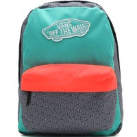 Vans Realm Geometric School Backpack - Womens Backpack - Multi - One