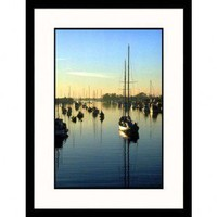 Great American Picture Boats at Newport Beach, California Framed Photograph - Doug Page - IS402257 - All Wall Art - Wall Art & Coverings - Decor