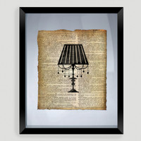 Lamp Print Wall Art - World Market