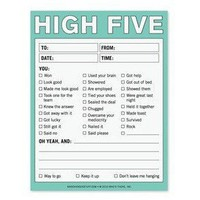 High Five Note Pad - Whimsical & Unique Gift Ideas for the Coolest Gift Givers