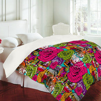 DENY Designs Home Accessories | Aimee St Hill Bright Roses Duvet Cover