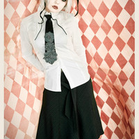SCHOOL GIRL TRYST SUITING SKIRT