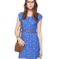 Ditsy Tulip Dress w/ Belt | FOREVER21 - 2000009312