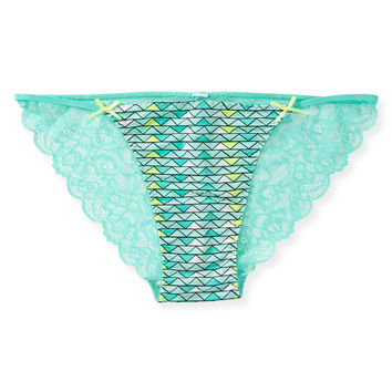 Triangle Lace-Back Bikini