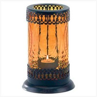 Amber Glass Lantern  37934 - Other