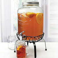 Circle Glass Yorkshire 2-Gallon Dispenser | Dillards.com