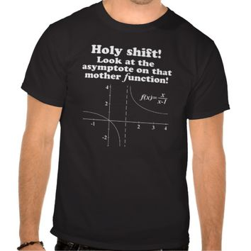 'Holy Shift! Mother Function' Math Geek T-Shirt