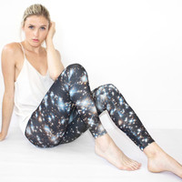 Starry Night Jersey Leggings