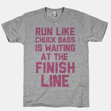 Run Like Chuck Bass Is Waiting For You At The Finish Line