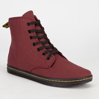 Dr. Martens Shoreditch Womens Boots Cherry Red  In Sizes