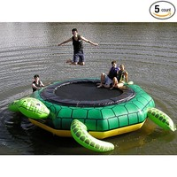 Island Hopper Turtle Jump 15 Foot Water Trampoline 2014