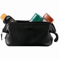 Personalized Royce Leather Deluxe Toiletry Bag
