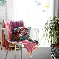 Magical Thinking Multi Stripe Throw Blanket - Urban Outfitters
