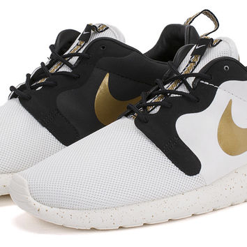 Bows   Arrows  Roshe Run Hyperfuse QS IvoryMetallic Gold