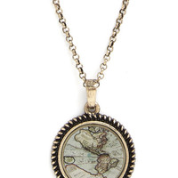 ModCloth Travel Plot the Course Necklace