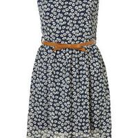 Floral Chiffon Dress by Wal G** - Clothing - Topshop