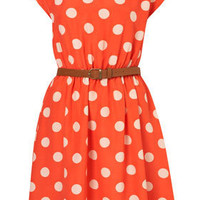 **Spot Print Dress by Rare - Rare - Clothing - Topshop