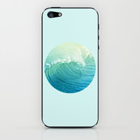 Catch the Wave iPhone & iPod Skin by Lisa Argyropoulos | Society6