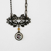 The mismatched necklace by MakenziMadilynDesign on Etsy