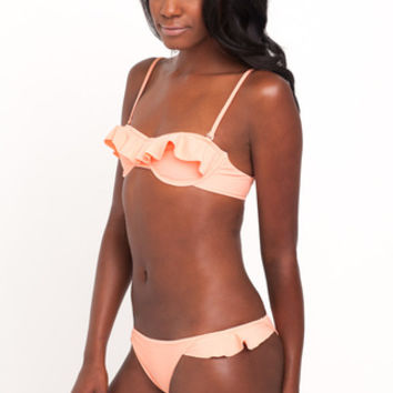 Tori Praver Swimwear Cabazon Top in Sherbet