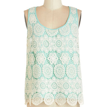 ModCloth Vintage Inspired Mid-length Sleeveless Object of