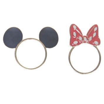 Minnie Mouse Ring Set  Wet Seal