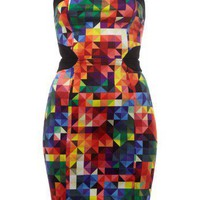 Motel Zahara Cutout Back Tube Dress - Lipsy