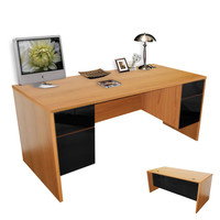 Alexis Double Pedestal Executive Desk