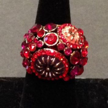 Red Sparkly Ring