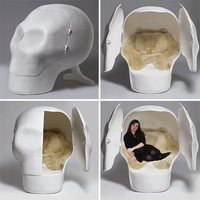 The Sensory Deprivation Skull | Furniture | Home