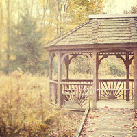 Landscape Picture - Vintage Gazebo - Woodland Art - Field Pictures - Peaceful Picture - Nature Art - | Luulla