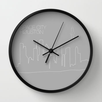 Space City Wall Clock by Half Moon Industries